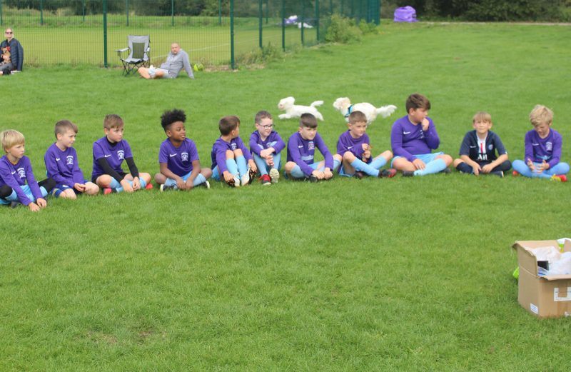 U10 Purple End of Season Awards
