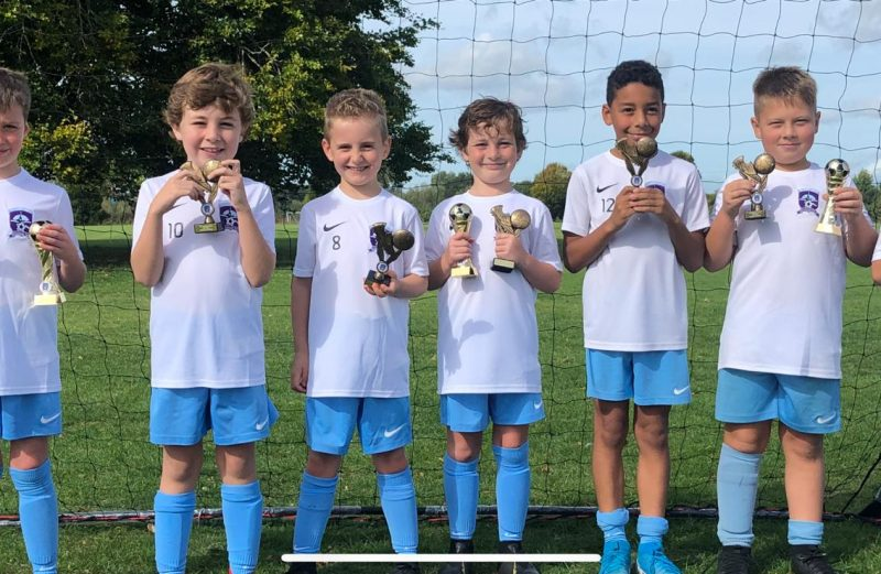 U8 Grey End of Season Awards